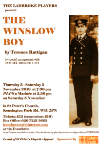 Ladbroke Player's The Winslow Boy