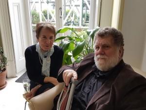 Margaret Sullivan and John Scotney