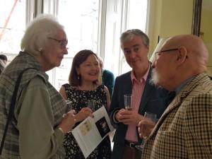 Jane Fenton, Barbara Longford, John Howes and Anthony Skyrme
