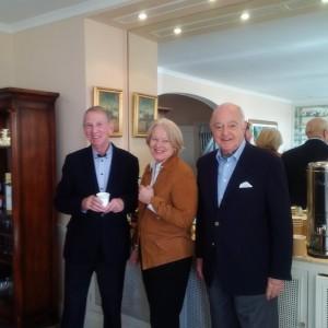 Norman Home with Robert and Pirjo Gardiner