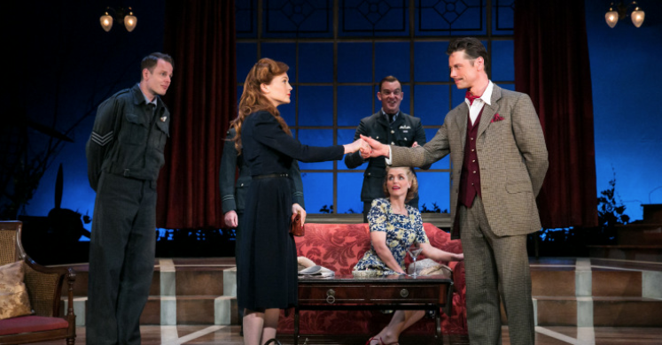 Flare Path Richmond Theatre. Photo: Jack Ladenburg